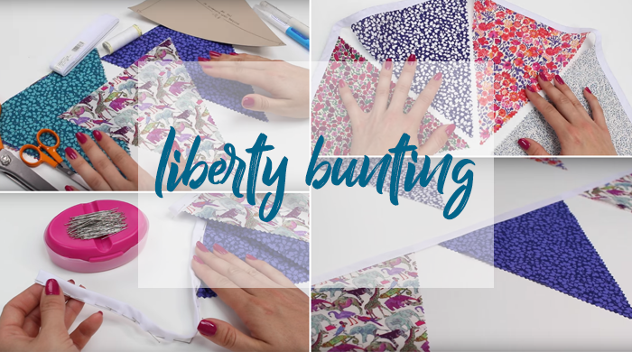 Quick liberty bunting in easy steps