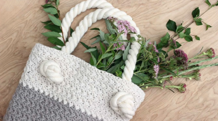 Suzette stitch bag