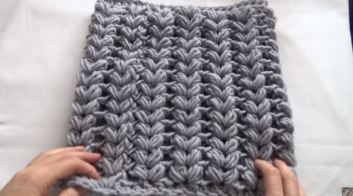 Crochet Puff Stitch Baby Blanket Tutorial