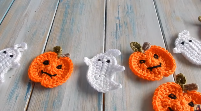 Crochet Helloween House Decorations