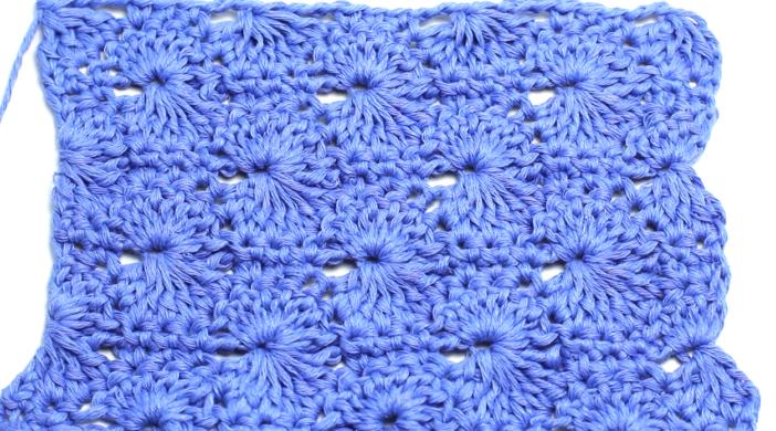 Crochet The Catherine Wheel Stitch Easy Video Tutorial