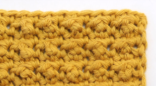 Crochet The Aligned Cobble Stitch Easy Tutorial