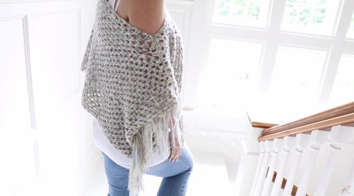 Crochet Fringe Sweater Easy Tutorial