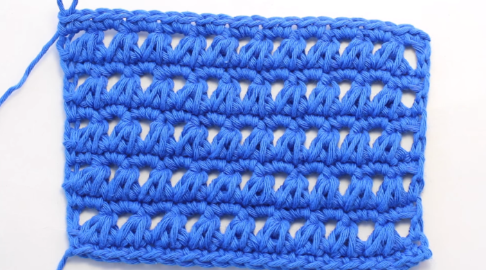 Crochet The Triangle Stitch Scarf Easy Tutorial