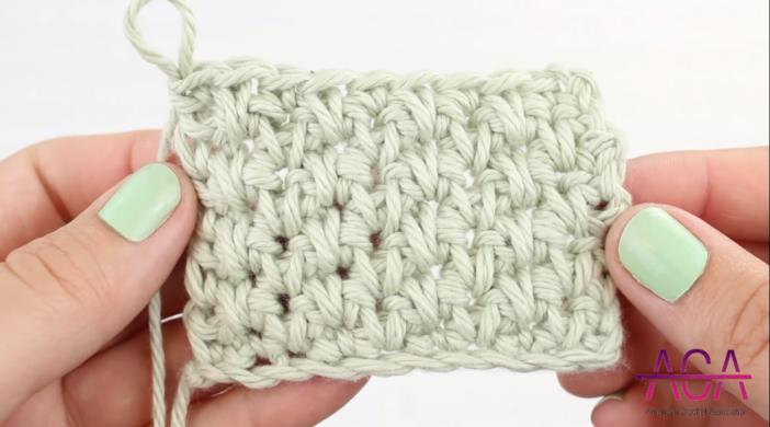 Crochet Alternating Spike Stitch Tutorial