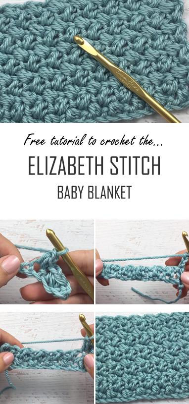 Crochet The Elizabeth Stitch Baby Blanket