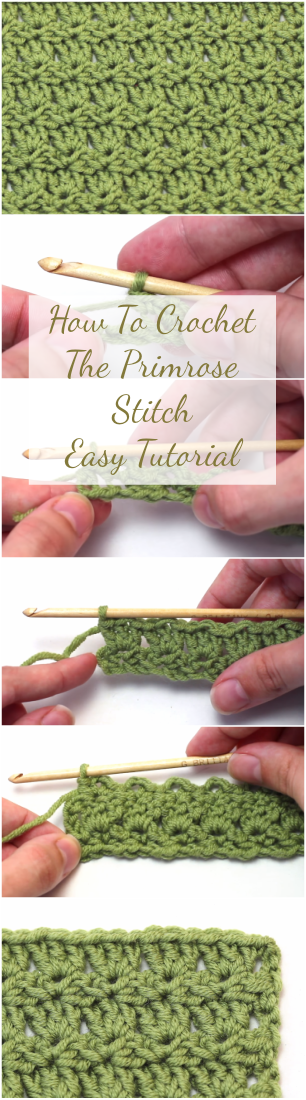 How To Crochet The Primrose Stitch Easy Tutorial