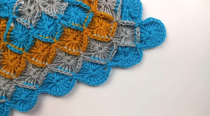 Crochet Bavarian Stitch Baby Blanket Tutorial