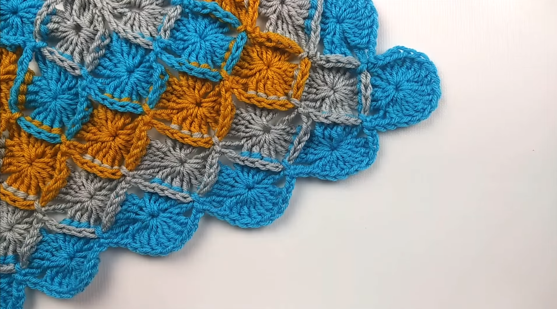 Crochet Bavarian Stitch Baby Blanket Tutorial - Free Video For Beginners