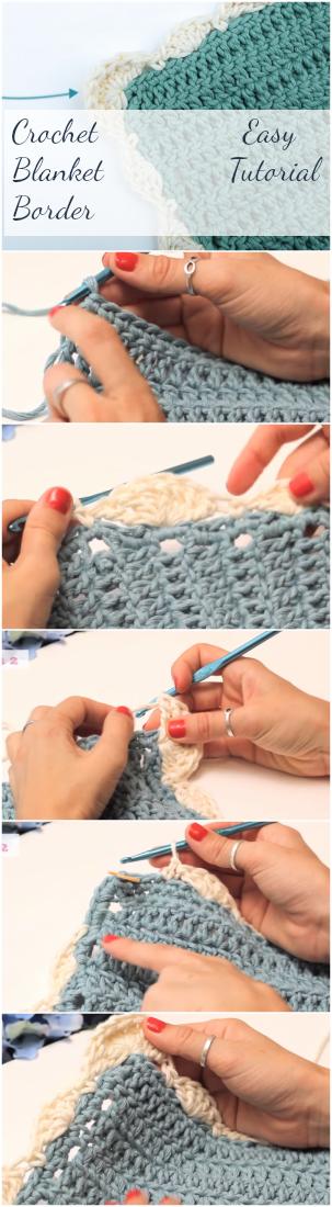 Crochet Blanket Border