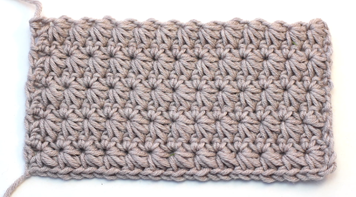 Crochet Star Stitch Baby Blanket Easy Tutorial Video For Beginners