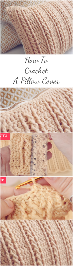 How To Crochet A Pillow Cover