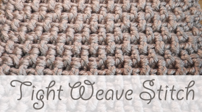 Crochet The Tight Weave Stitch Blanket