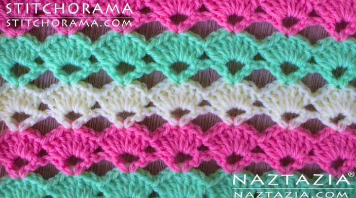 How To Crochet Shell Stitch Baby Blanket Easy Tutorial For