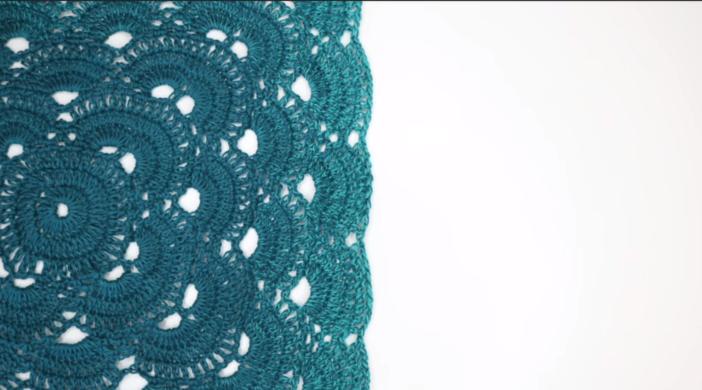 How To Crochet Virus Baby Blanket Easy Tutorial For Beginners Free