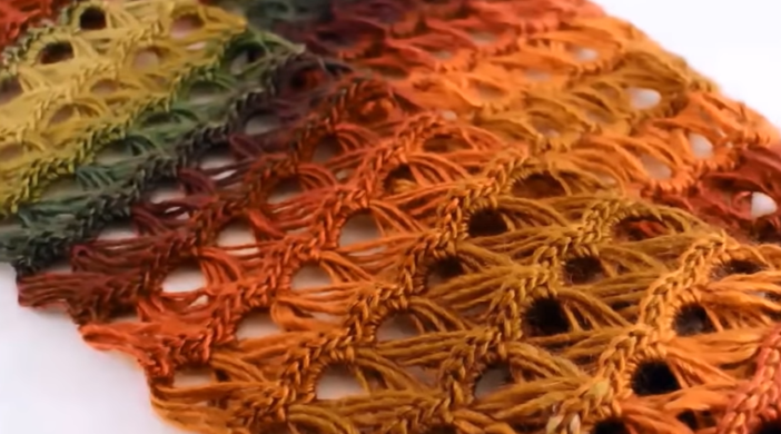 How To Crochet Broomstick Lace Infinity Scarf Free Pattern