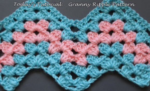 Crochet Granny Ripple Baby Blanket – Free Pattern + Easy Video Tutorial
