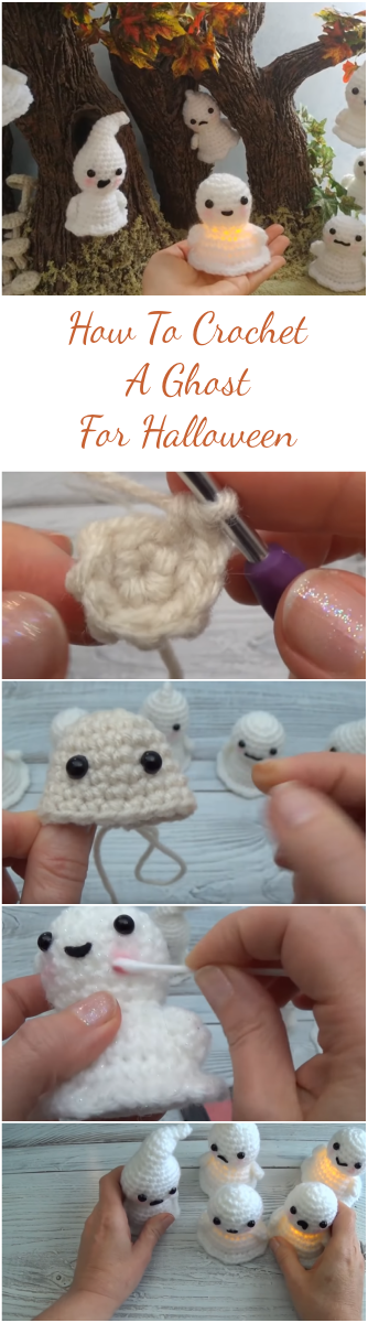 How To Crochet A Ghost For Halloween