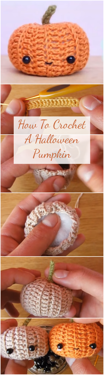 How To Crochet A Halloween Pumpkin