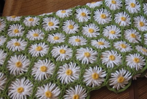 How To Crochet Daisy Afghan Blanket Easy Tutorial + Pattern + Free Video