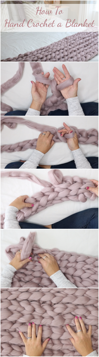 How To Hand Crochet a Blanket