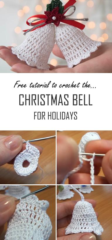 Crochet Christmas Bell