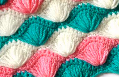 Crochet Elongated Stitch Baby Blanket | Free Pattern